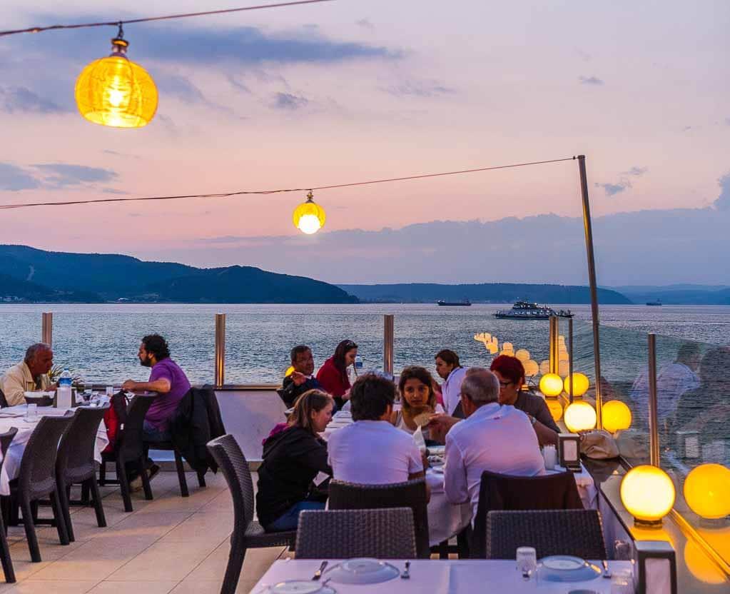 Alojamiento en la  Costa del Egeo
