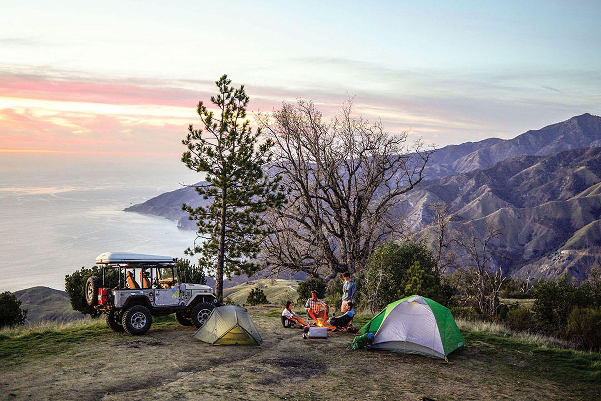Free Camping in Big Sur