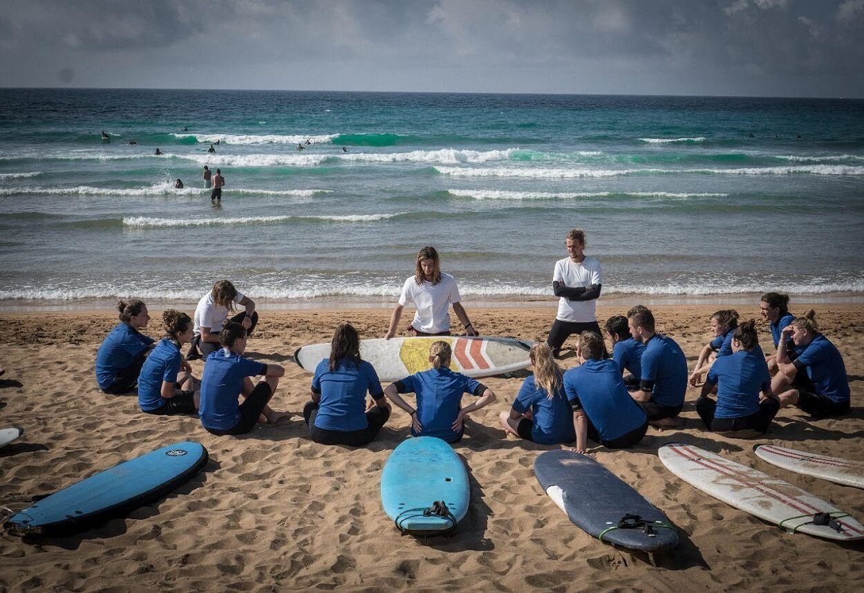 San Sebastian Surf Camp