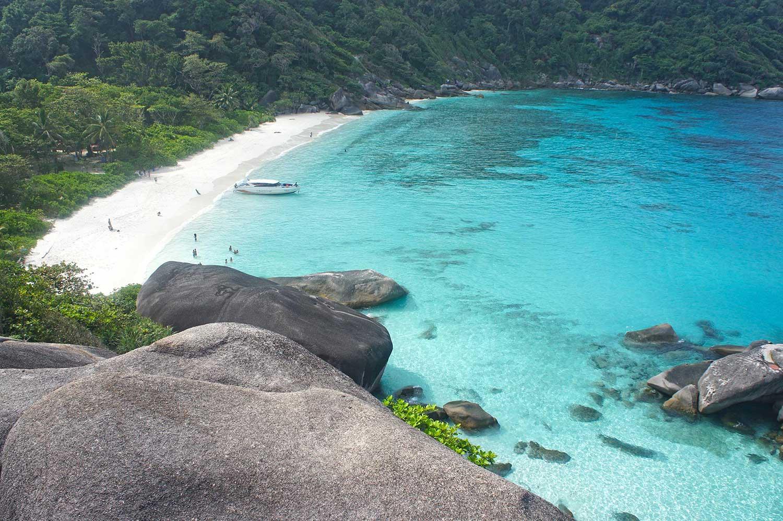 Senderismo en las Islas Similan