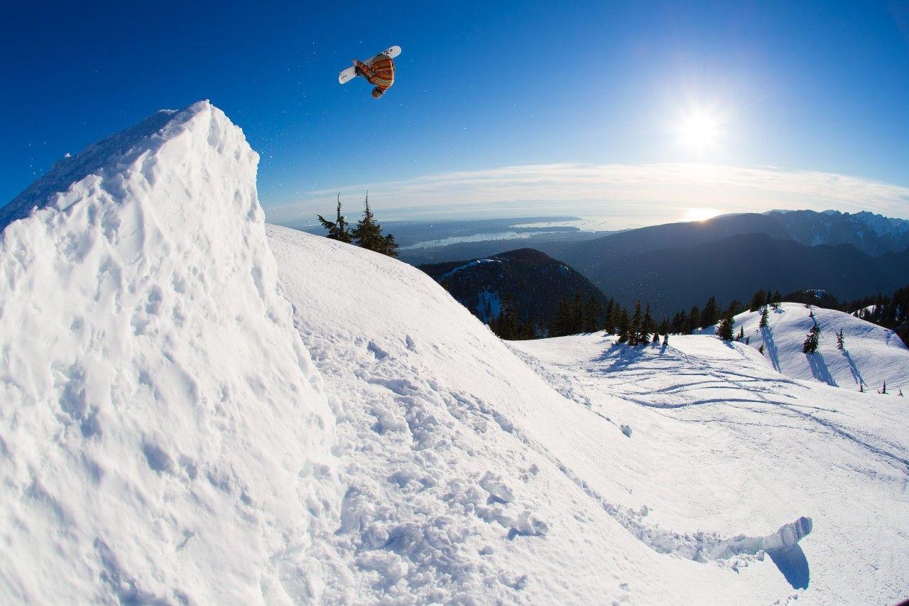 Snowboard en los Andes