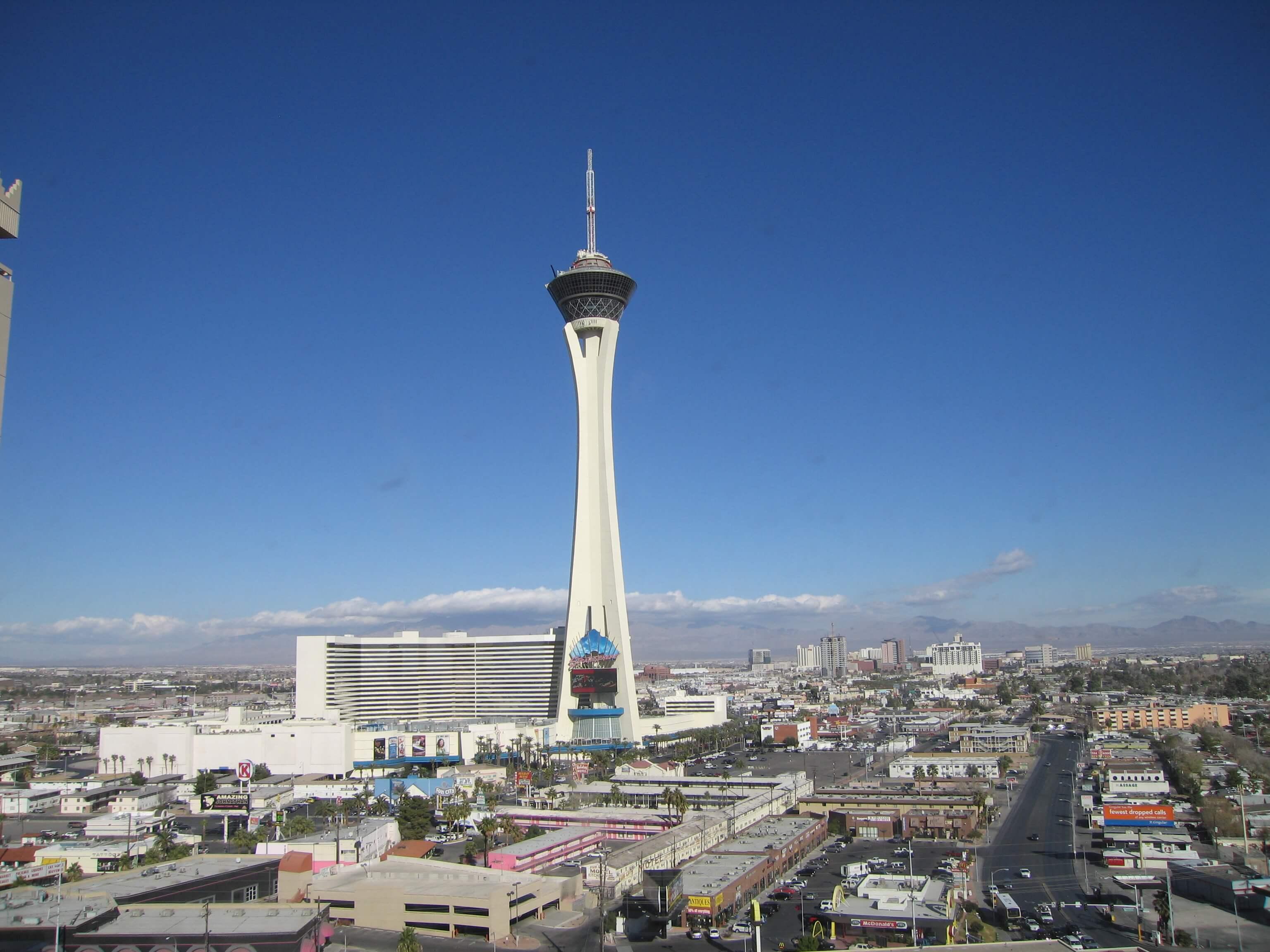 Stratosphere Jump en las Vegas