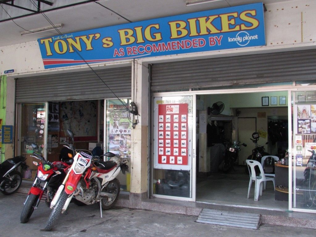 Tony's Big Bikes