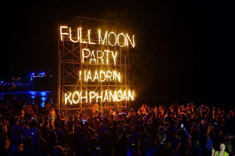 fiesta de la luna llena
