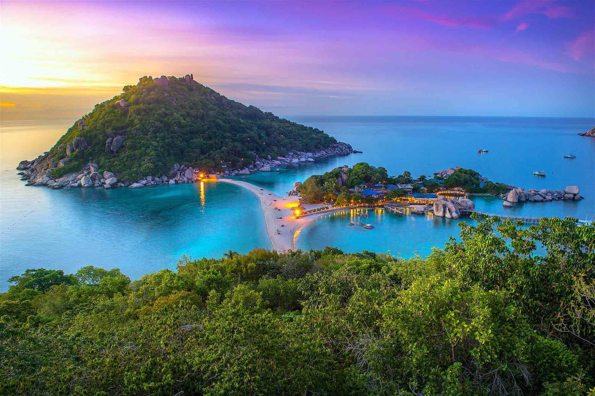 isla de Nang Yuan