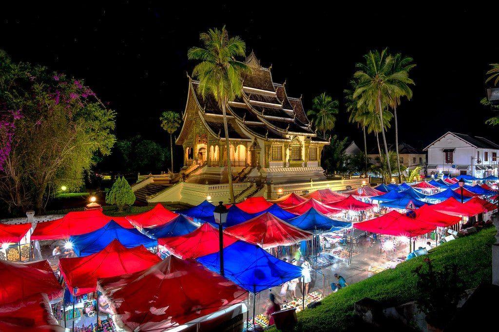 mercado nocturno de Ban Niang