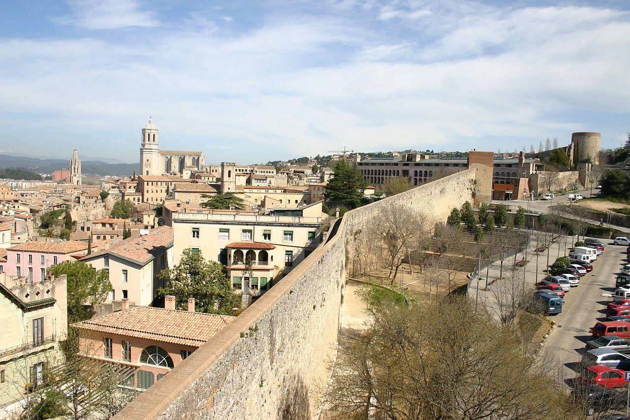 Antiguas murallas de Girona