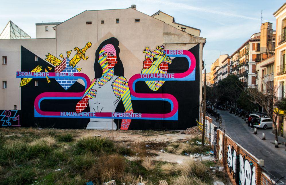 Arte callejero en Madrid
