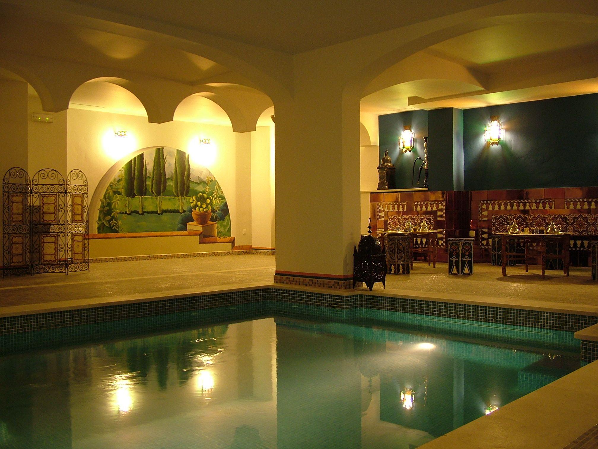 Casa de baños árabe