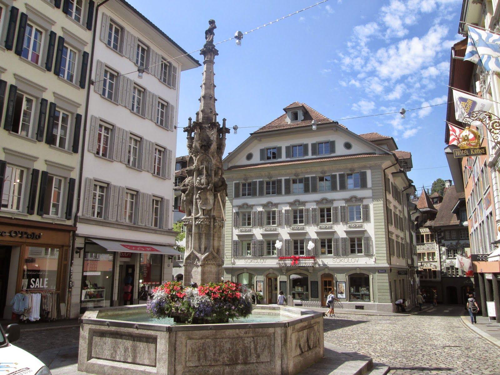 Casco antiguo de Lucerna