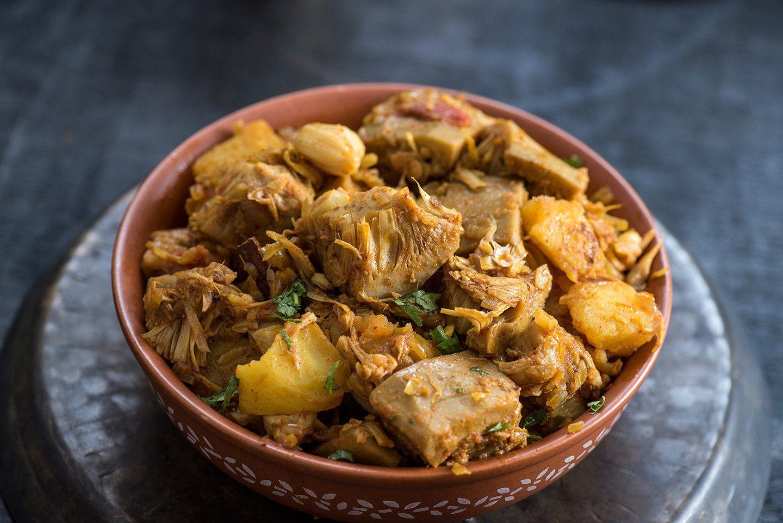 Curry de jackfruit