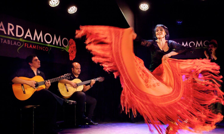 Espectáculo de flamenco en Madrid