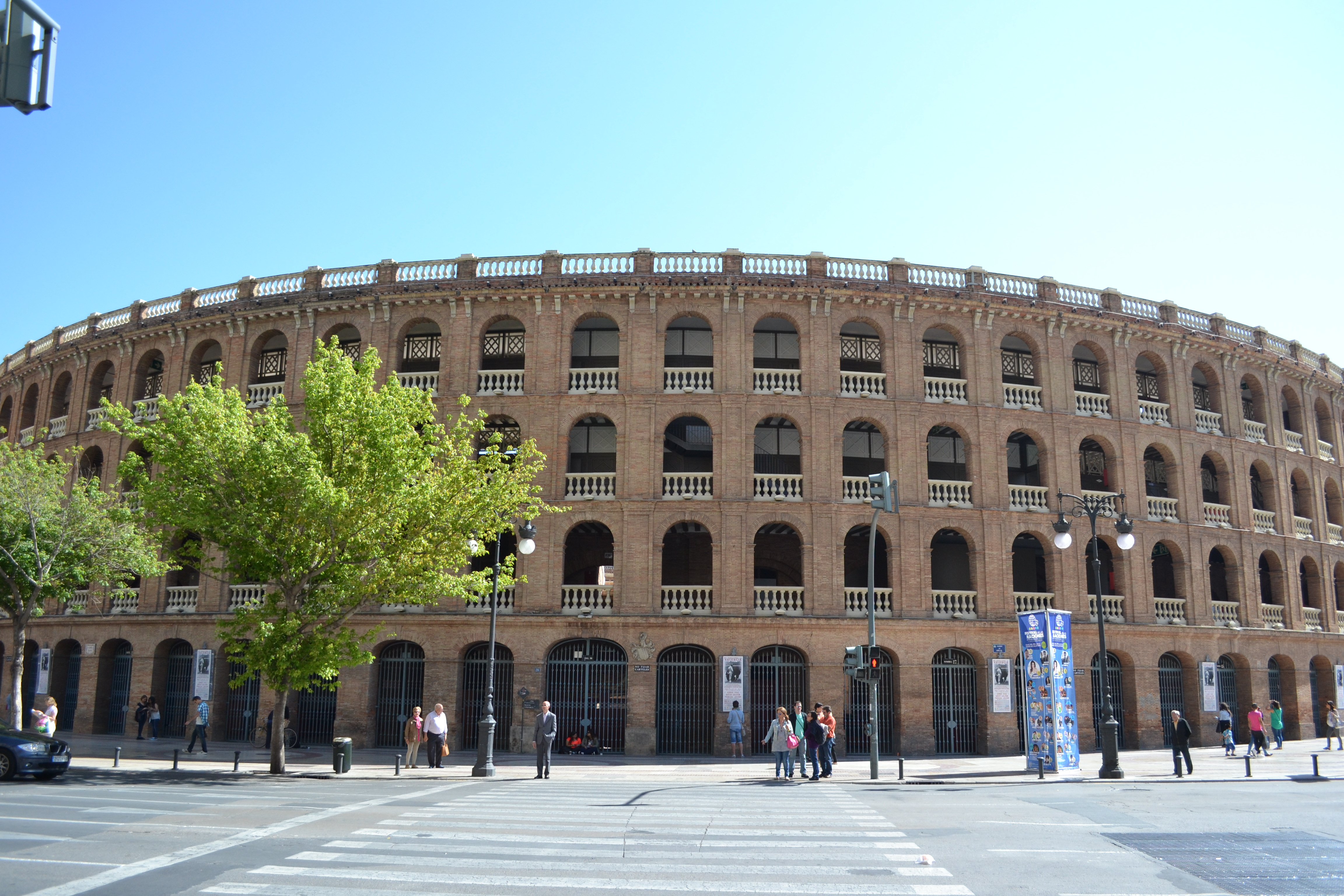 La Plaza de Toros de Valencia