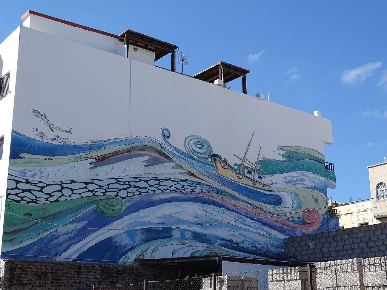 Murales en Gran Tarajal