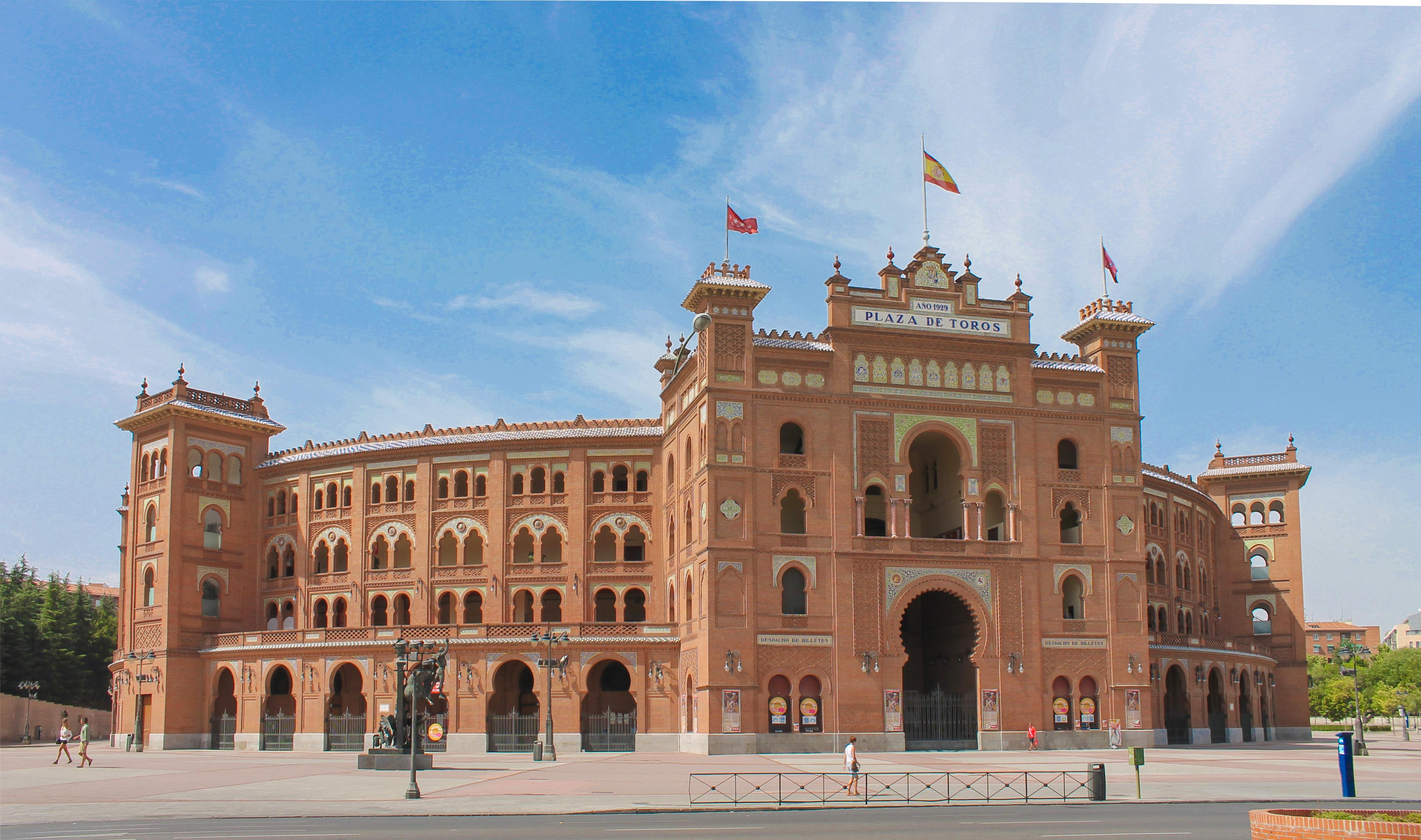 Plaza de los toros en Madrid