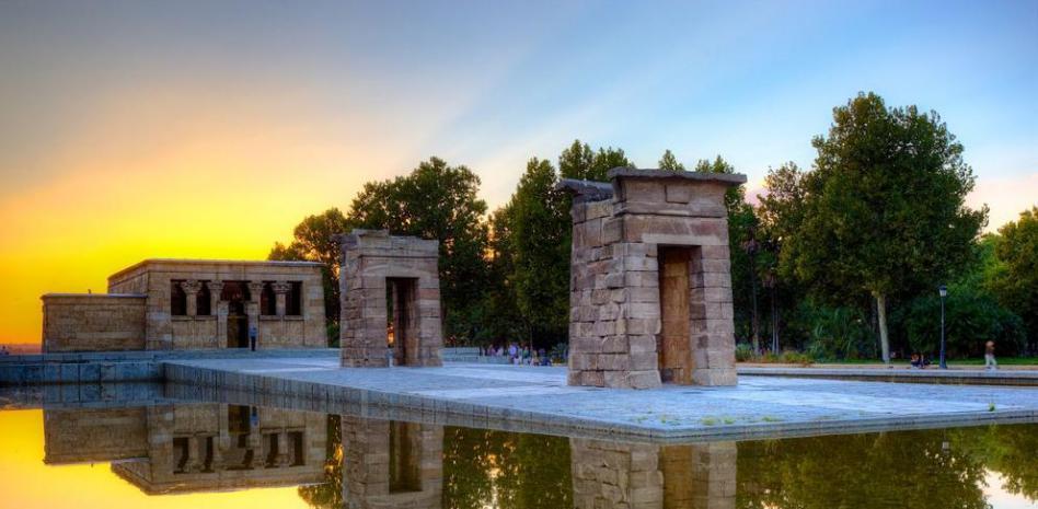 Templo Egipcio en el Parque del Oeste