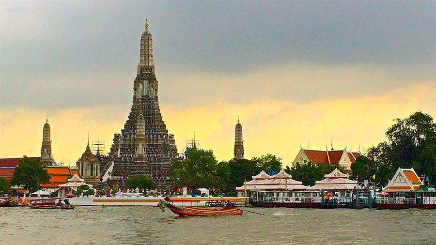 Templo del Río Chao Phraya