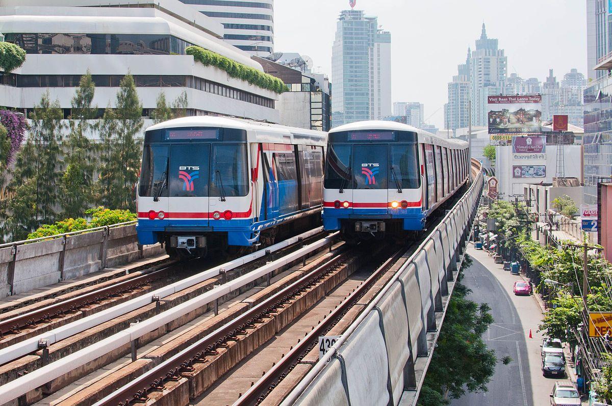 Tren BTS en Tailandia