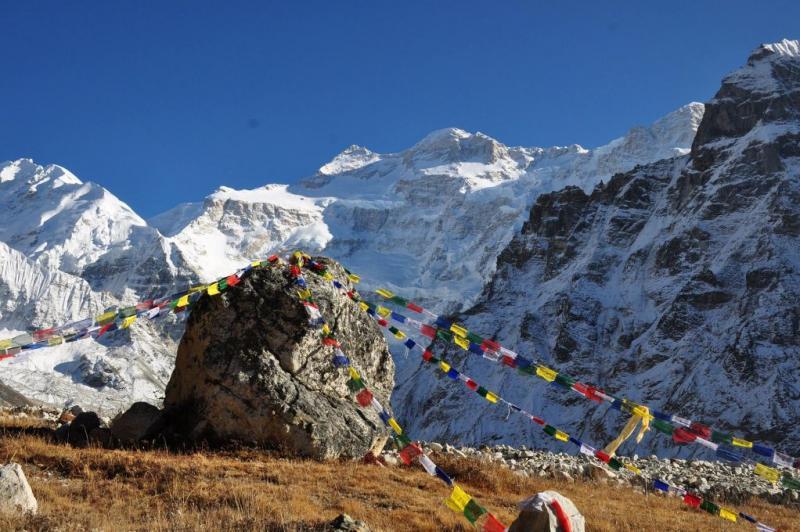 Campo Base de Kanchenjunga