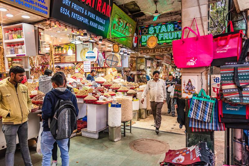 Mercado de Khari Baoli