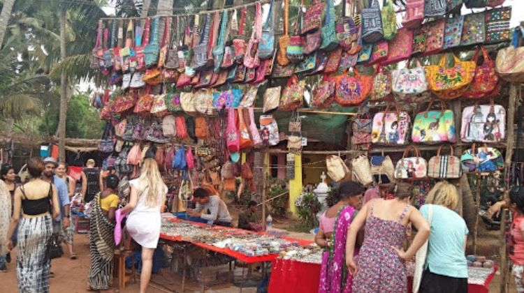 Mercado de pulgas de Anjuna
