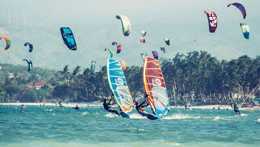 Windsurf en Boracay