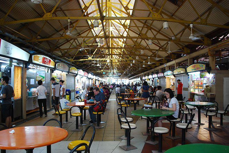 Centros de venta ambulante en Singapur 2