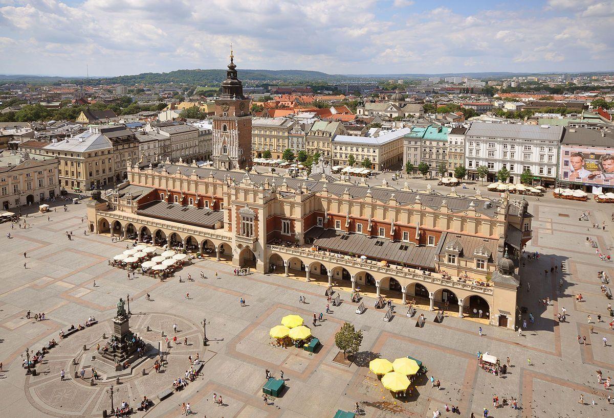 Plaza del mercado, Rynek Główny