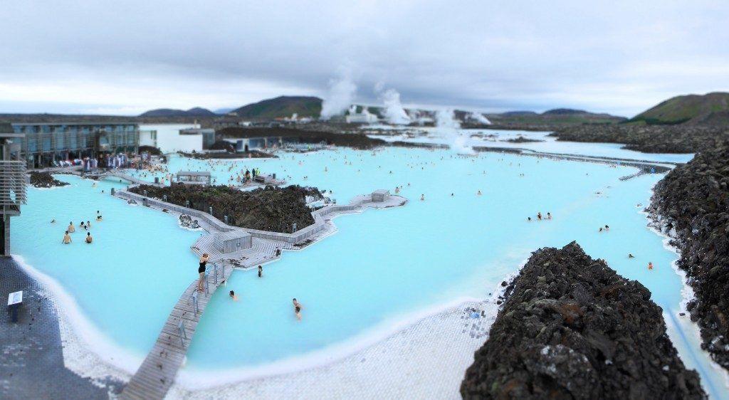 Spa geotérmico Blue Lagoon