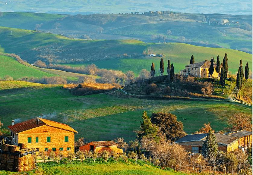 Explorar La Toscana Ir En Bicicleta Y Hacer Senderismo 2