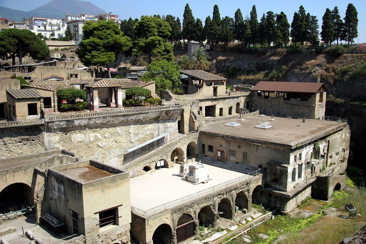 Los restos de Herculano