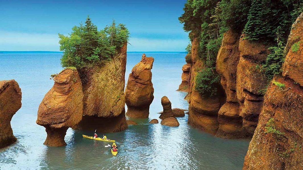 La bahía de Fundy