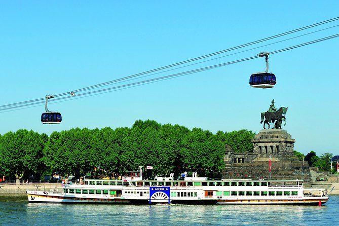Teleférico sobre el río Rhin