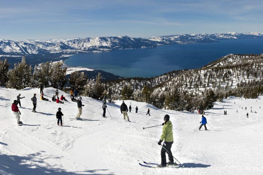 Montañas en Lake Tahoe